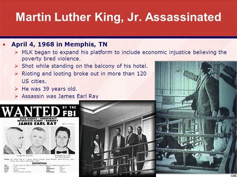 how the government killed martin luther king jr unit 9 the civil rights movement chapters ppt video