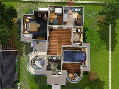 the sims 3 house floor plans mod the sims hummingbird no cc