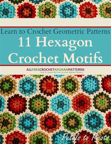 download crochet tutorial merajut motif sisik learn to crochet geometric patterns 11 hexagon crochet