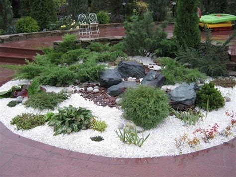 Garten Gestalten Steingarten by Die Besten 25 Steingarten Gestalten Ideen Auf