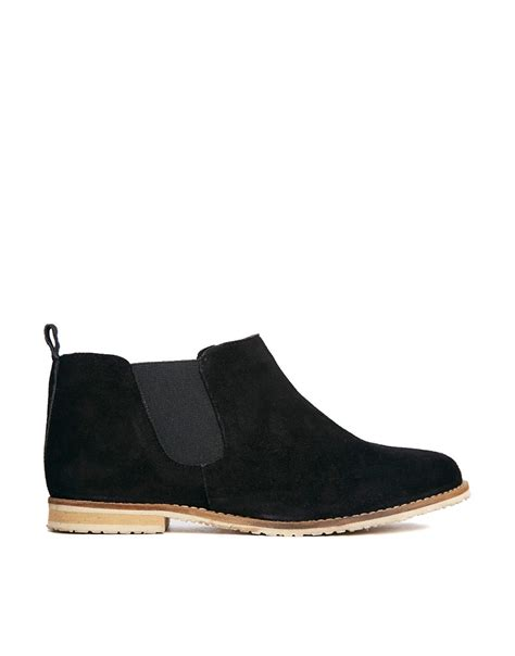 asos asos azumi suede chelsea ankle boots at asos