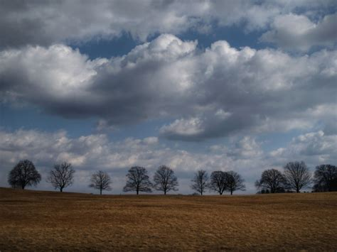 Landscape Photography In Cloudy Weather Cloudy Windy Day Landscape Rural Photos Angry Buddha