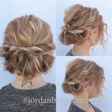 quick hairstyles for cocktail party quick and cute updo for short hair lots of texture and so