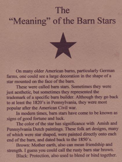 Barn Meaning In The Quot Meaning Quot Of The Barn Barn Quilts