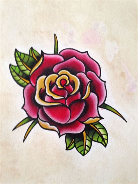traditonal rose tattoo 17 best ideas about vintage tattoos on