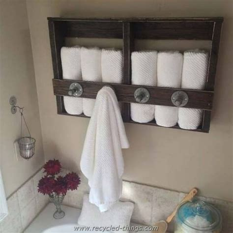 pallet ideas for bathroom recycled wood pallet ideas recycled things