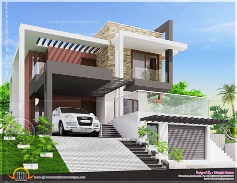 Luxury Home Plans 2015 May 2015 Home Kerala Plans