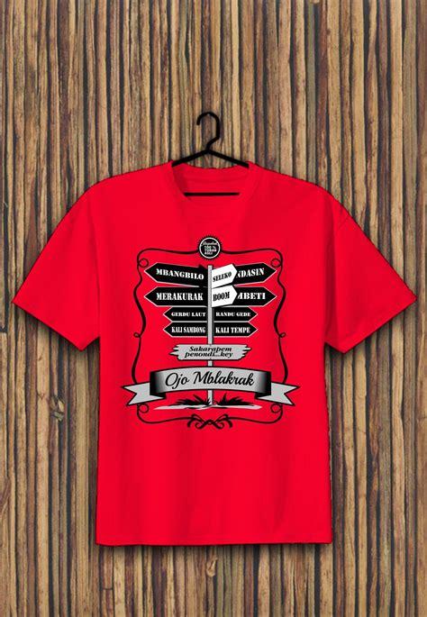 Kaos Air Merah rapakat kaos tuban rapakat