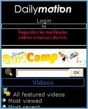 dailymotion mobile site dailymotion mobile wap review