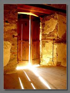 awakened open doors when came