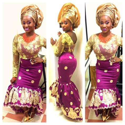 pictures of latest blouse and wrapper bella naija aso ebi george styles google zoeken aso ebi
