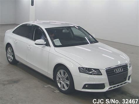audi a4 for sale 2010 2010 audi a4 white for sale stock no 32467 japanese