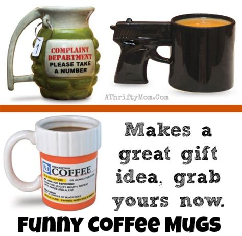 Funny Coffee Mugs ~ perfect Fathers Day Gifts for the Coffee drinker in your life