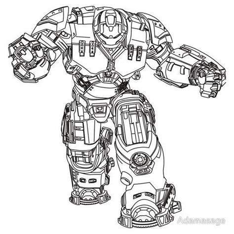 iron man hulkbuster coloring pages how to draw hulkbuster proyectos que intentar pinterest