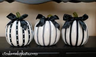 black and white pumpkins decor black and white pumpkins creations by kara