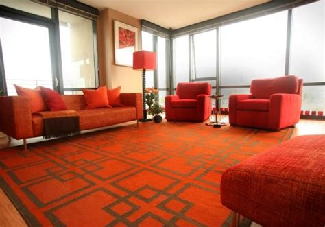 Tangerine Living Room by Tangerine Color Of The Year For 2012
