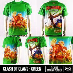 Kaos Clash Of Clans Qdr Coc 03 clash of clans jersey indonesia bahan fit polyester printing sublimasi gratis penambahan