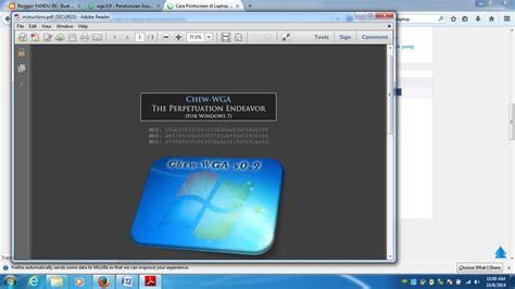 cara membuat windows xp genuine cara membuat windows 7 menjadi genuine dengan 1 klik