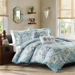 Bedding Sets In Blue Beautiful Blue Teal White Aqua Yellow Floral Bright