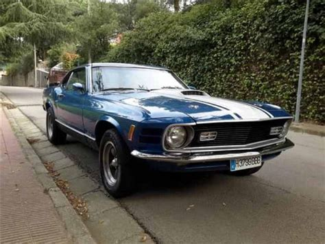 Mustang Auto Usate by Usato Ford Mustang 1970 Km 119 000 In La Spezia Autouncle