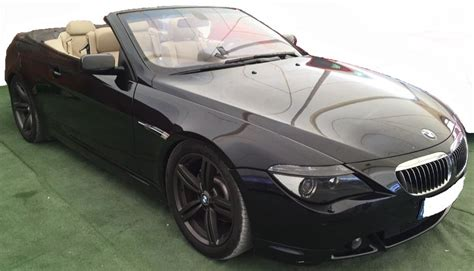 how does cars work 2004 bmw 645 auto manual 2004 bmw 645ci smg automatic convertible cars for sale in spain