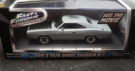 Greenlight 1 43 Dodge Charger The Fast And The Furius 2001 Promo greenlight 1 43 scale fast and the furious dom