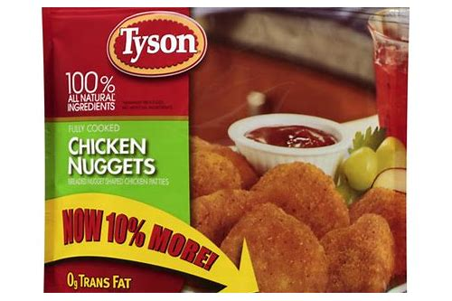 tyson chicken nuggets $2.54 coupons