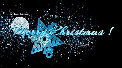 Happy Christmast 8 free footage snowflake merry and happy new year