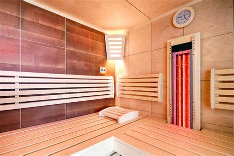 sauna zimmer einrichten wellness badezimmer mit sauna raum und m 246 beldesign