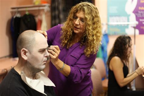 film up on tv makeup artist for big film stars working on addams family