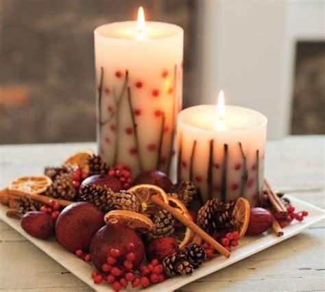 candele fatte in casa 5 decorazioni fai da te per arredare a tema natalizio
