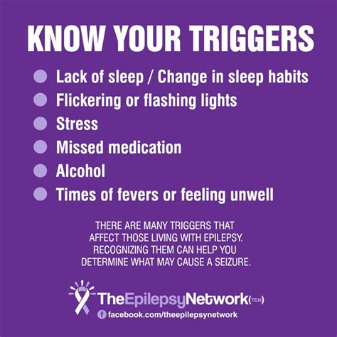 what causes seizures there are many triggers that affect those living with epilepsy recognizing them