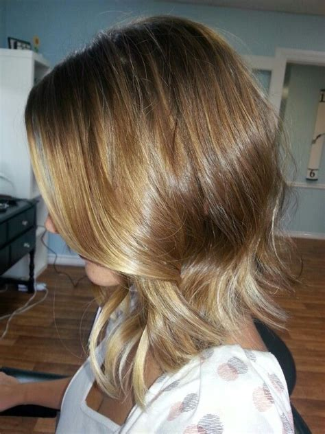 ombre hair color on a bob long bob ombre long hairstyles