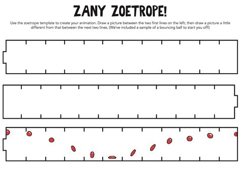 printable zoetrope pedal punk family activity newvictory org