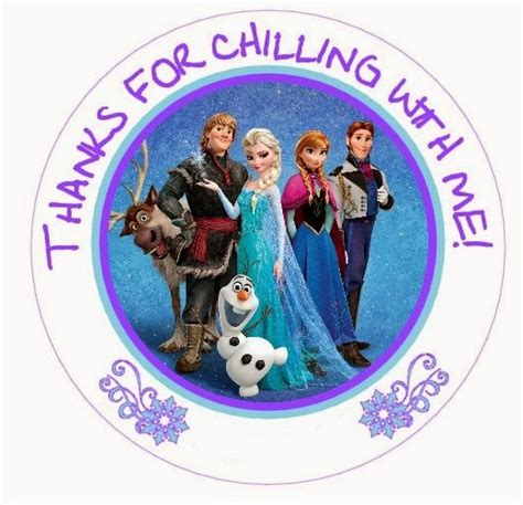 printable frozen toppers frozen free printable toppers oh my fiesta in english
