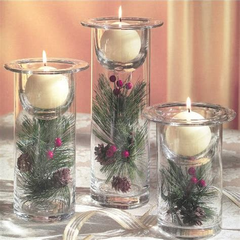 white christmas candle light christmas tablescape decor