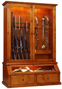 willow valley bar and room 12 gun bow cabinet