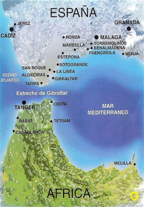 strait of gibraltar map strait of gibraltar map