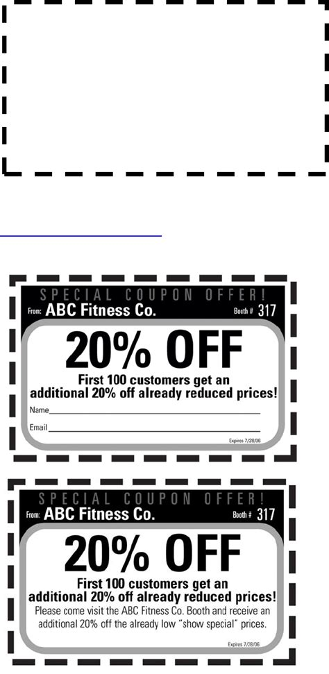 Coupon Template In Word And Pdf Formats Coupon Template Docs