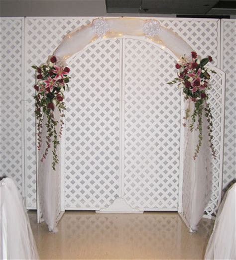 Wedding Arch Backdrop Ideas by Indoor Wedding Altars Wedding Arch Ideas In Front Of The