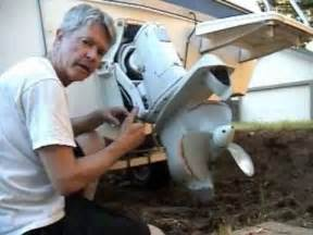 How To Remove A Volvo Penta Outdrive Volvo Penta Outdrive 270 280 Exhaust Bellows Installation