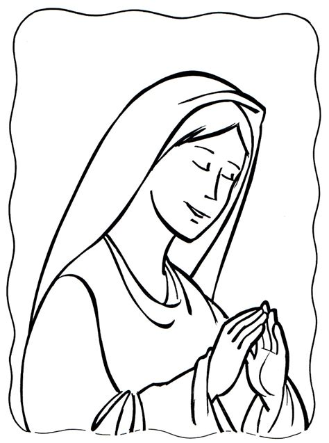 coloring pages of jesus in nazareth mary of nazareth mary mother of jesus