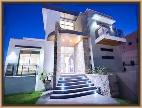 el mejor dise 241 o fachadas de casas modernas modernas