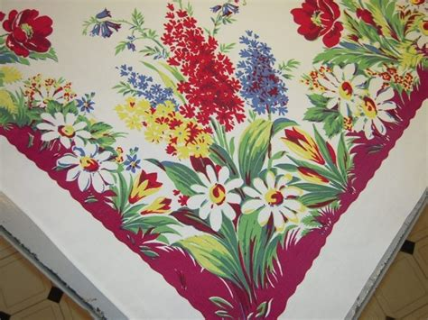 1000 images about vintage tablecloths on