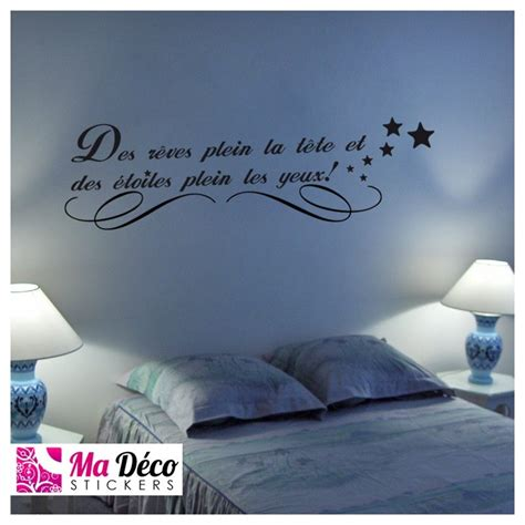Wall Sticker Phrases stickers citation r 234 ves amp 233 toiles cheap home discount
