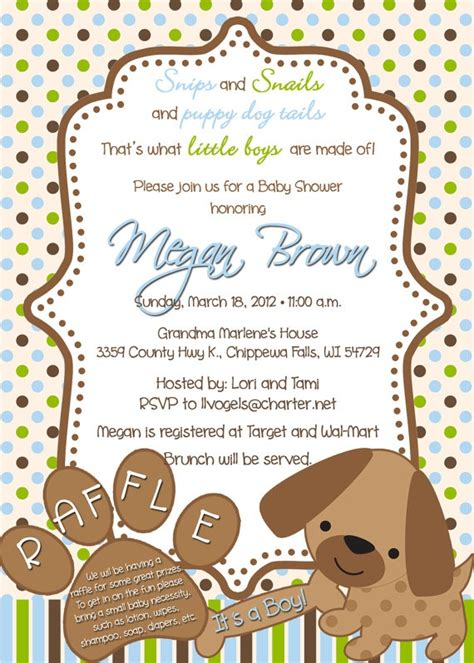 Puppy Baby Shower Theme by 24 Best Puppy Baby Shower Theme Images On