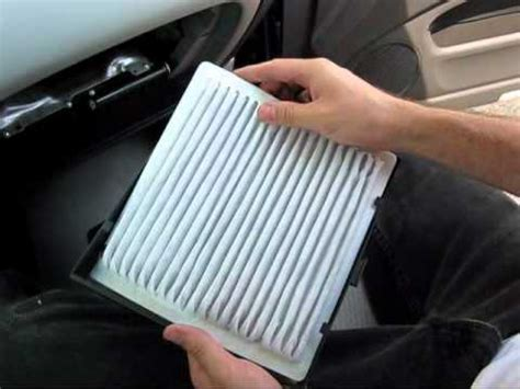 Toyota Highlander Cabin Air Filter How To Install Replace Heater Ac Blower Fan Motor Toyota