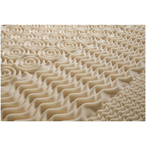 Convoluted Foam Mattress Pad by Adaptaflex Convoluted Memory Foam Mattress Topper