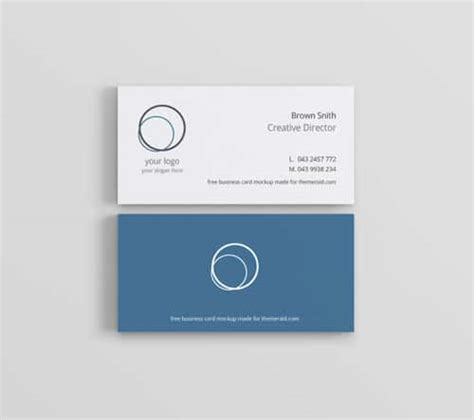 free html5 business card template this week on list of freebies business card minimal cv