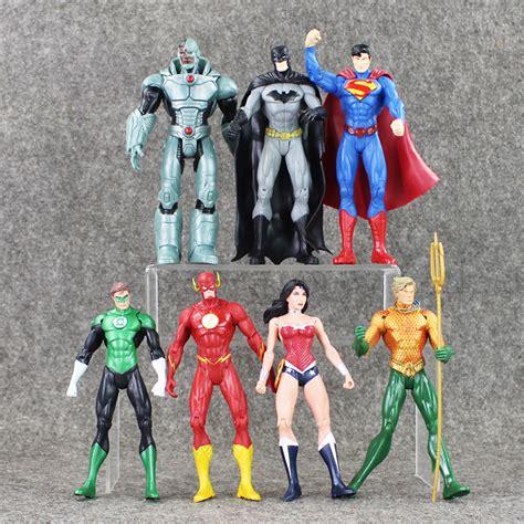 Figure Dc Justice League Set Supermanbatmandll 7 Pcs buy wholesale green lantern toys from china green lantern toys wholesalers aliexpress